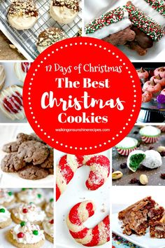 The Best Christmas Cookies are featured this week with our Delicious Dishes Recipe Party and our 12 Days of Christmas Celebration. Best Christmas Cookies, Vegan Christmas, Holiday Cookies, Christmas Treats, Christmas Fun, Christmas Goodies, Holiday Recipes, Christmas Recipes, Fall Recipes