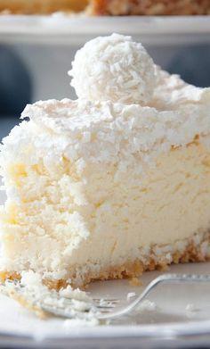 Coconut Almond Cheesecake ~ Mmmmmmm...Sweet