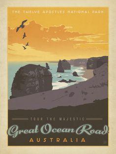 Austrália - Anderson Design Group | Crie seu quadro com essa imagem https://www.onthewall.com.br/poster/australia-1108 #quadro #canvas #moldura #poster #decor