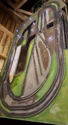 Ian Parker-Model Railway Trains Admin on 'Facebook' on 04.01.18. #modeltrainlayouts
