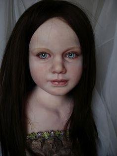 Anya's Originals Reborns and OOAK Art Dolls: Fairy Doll in progress