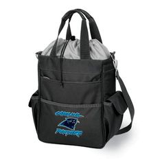 Picnic Time: NFL Carolina Panthers Activo Insulated Tote. Find your team @ ReadyGolf.com