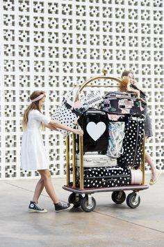 Emily & Meritt Spring travel accessories