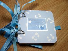 Baby Boy Giftcard Holder by HampshireRose on Etsy, $10.00