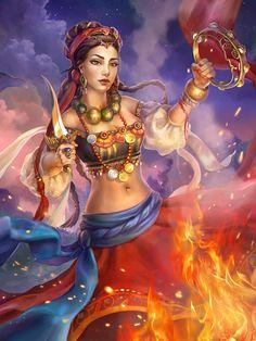 Magician by AnastasiaReddress.deviantart.com on @deviantART