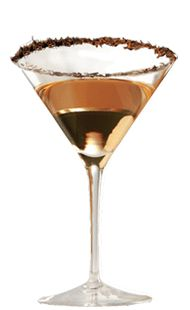 Frangelico Hazelnut Martini ~ Frangelico, Vodka, Cocoa powder for garnishing glass ~ Mix equal parts of Frangelico and vodka. Shake and serve in a martini glass garnished with a chocolate rim.