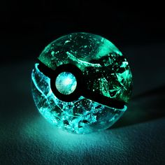 Crystal Pokeball. My boyfriend would love this!