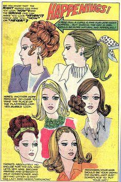 60s hair tips!