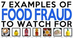 Frauds, Counterfeits, Fakes? A consumer advocacy group is warning in an updated report that some of the food items shoppers see on store shelves aren't what they seem.