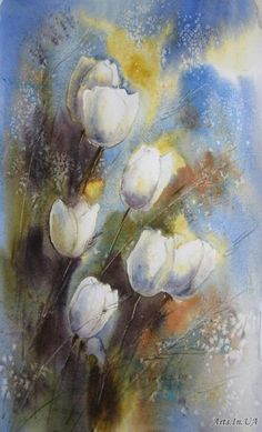 Veneta Docheva \Дочева Венета  - Белые тюльпаны