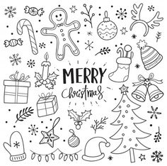 christmas doodles Weihnachten doodles p - Merry Christmas Calligraphy, Merry Christmas Quotes, Christmas Doodles, Christmas Coloring Pages, Christmas Drawing, Christmas Signs, Christmas Colors, Christmas Art, Hygge Christmas