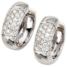Dreambase Damen-Ohrschmuck Creole 54 Diamant-Brillanten 1... https://www.amazon.de/dp/B0097RBGXW/?m=A37R2BYHN7XPNV