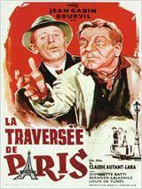 La Traversée de Paris - comédie dramatique, deuxième guerre mondiale. Louis de Funès, Bourvil et Jean Gabin. Plus d'info: http://www.allocine.fr/film/fichefilm_gen_cfilm=20196.html