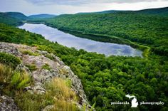 Lake of the Clouds, Porcupine mountains, MI.