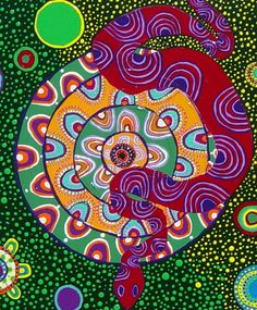 Howard G. Charing: Shamanism and Ayahuasca Art