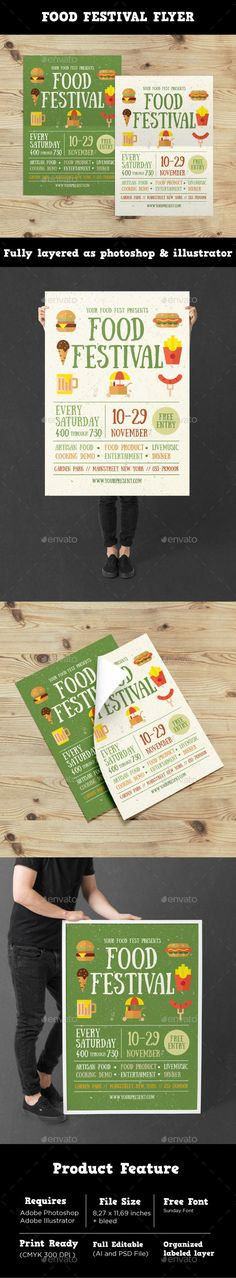 #Food Festival #Flyer - Events Flyers