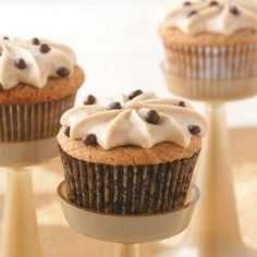 Peanut Butter Cupcakes Recipe from Taste of Home -- shared by Ruth Hutson of Westfield, Indiana