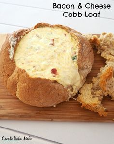 Cheese and Bacon Cobb Loaf