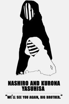 Vamos ver você de novo,irmãozão - Kuro e Shiro | Tokyo Ghoul