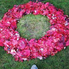 Ephemeral Art, Military Cemetery, Perspective, Floral Wreath, Wreaths, Artist, Decor, Decoration, Door Wreaths