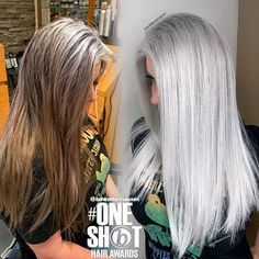 ᒍᗩᑕK ᗰᗩᖇTIᑎ (@jackmartincolorist) • Instagram photos and videos Shot Hair Styles, Long Hair Styles, Grey Hair Transformation, About Hair, Salons, Dreadlocks, Photo And Video, Beauty, Instagram