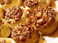 Schnecken (Sticky German Cinnamon Buns) (1) From: Food (2) Webpage has a convenient Pin It Button
