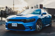 2016 Dodge Charger SRT 392 in B5 Blue #Dodge #Challenger #Charger #mopar #Ram #Viper #car