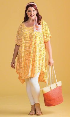 Lucia Tunic / MiB Plus Size Fashion for Women / Spring Fashion http://www.makingitbig.com/product/5147