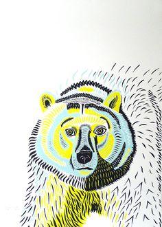 margaux-carpentier—bear Print Club London