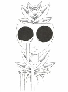 drawings easy cool pencil trippy drawing horror dark evil scary simple tattoo flowers google fairies creepy draw things sketches gothic
