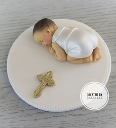 1 x Baby Christening Baptism cake topper cake decoration baby Boy edible Baby Boy Baptism, Baby Shawer, Boy Christening, Baby Boy Cakes, Baby Shower Cakes, Baby Boy Decorations, Teddy Bear Cakes, Edible Cake Toppers, Cake Creations
