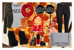 """""""Outfit #7"""" by secretlynerdyfangirl ❤ liked on Polyvore featuring H&M, CO, Jeffrey Campbell, Black Apple, Torrid, Guerlain, Rimmel, eylure and Chanel"""