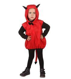 Kostüm kleiner Teufel für Kinder zu Halloween oder Fasching