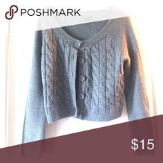Grey cardigan Cute and cozy grey cardigan- perfect for the fall! New York & Company Sweaters Cardigans
