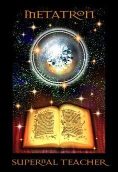 ∆ Archangel Metatron...Values:  MERCY MIRACLES WISDOM DIVINE INTELLIGENCE