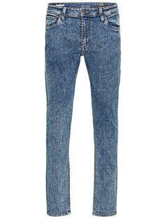 ORIGINALS by JACK & JONES - Super-Skinny-Jeans von ORIGINALS - Low rise - Schmale Oberschenkel- und Knieform - Enger Beinabschluss - Reißverschlusseingriff - 5-Taschen-Stil - Stretch-Qualität 98% Baumwolle, 2% Elasthan...