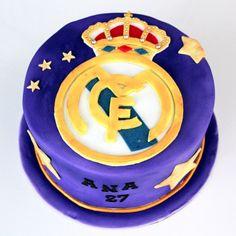 Tarta Real Madrid, Real Madrid Cake, Star Cakes, Ideas Para Fiestas, Tableware, Party, Shower, Facebook, Bathroom