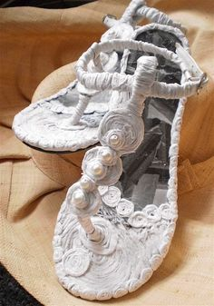 Paper shoes changes the way we wear clothing.