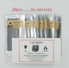 10pcs 1560mAh Cell Phone Battery Li-ion Battery 3.8V Replacement Battery For Apple iPhone 5S Battery