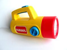 Playskool Color Change Flashlight: What a waste; I never used the red or green colors because they made everything look scary.