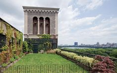 Roof top garden over Central Park, a girl can dream, can't she?