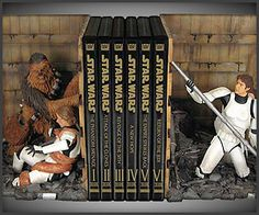 Star Wars Bookends - so I need this.
