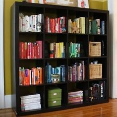 New-IKEA-EXPEDIT-Shelving-Unit-Bookcase-Display-Case-Shelf-Black-Room-Divider