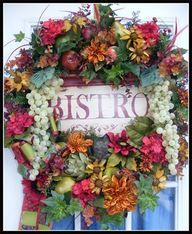 """Bistro"" Designer Kitchen Wreath"