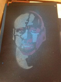 Stencil with 2 layers