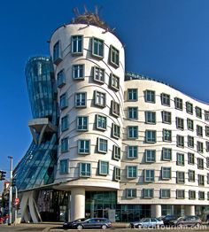 Do not forget to visit Fred and Ginger also called 'Dancing House' once you visit Prague! Hilton Prague Old Town just adores it! Art And Architecture, Architecture Details, Prague Old Town, Visit Prague, Heart Of Europe, Old Town Square, Local Attractions, Eastern Europe, Czech Republic