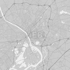 Trenton New Jersey Area Map Dark Ui ux