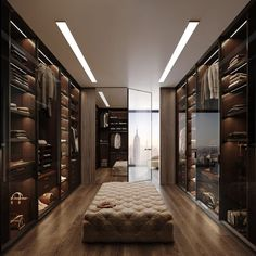 Walk In Closet Design, Bedroom Closet Design, Wardrobe Design, Closet Designs, Dream Home Design, Modern House Design, Home Interior Design, Wardrobe Room, Dressing Room Design