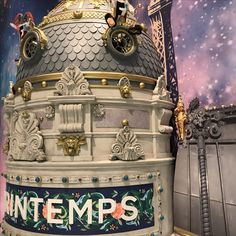 Grands Magasins Printemps and its Christmas windows