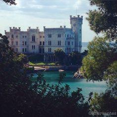 Trieste, Italy  #castle #Italy
